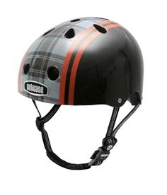 CAPACETE NUTCASE NTG2-2043 BLACK PLAID STREE