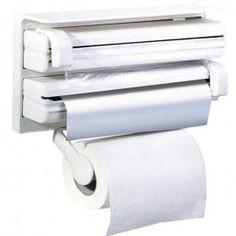 And Retails Triple Paper Dispenser For Cling Film Wrap Aluminium Foil & Kitchen Roll