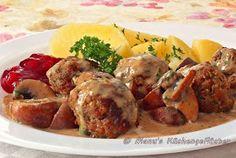 Manus Küchengeflüster: Schwedische Fleischbällchen oder Köttbullar