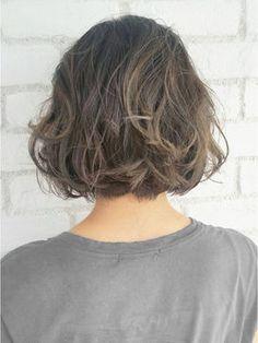 """ボブで""""かわいくパーマする""""ならコレ♥【2017髪型】 - NAVER まとめ"""