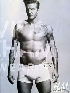 David Beckham Debuts H Underwear Line