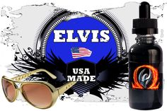 ELVIS FLAVOR PROFILE: Time to vape our tribute to The King of Rock! And what better way to pay homage to Elvis than vape his favorite sandwich? Peanut butter, bacon & banana - that's right! #firebrand #vape #subohm #vapeporn #vapelyfe #islandvapeshop #vaping #improof