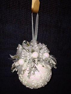 Елочные шары декор своими руками
