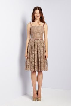 Collette Dinnigan. Spring 2013 Ready to Wear. So soft and pretty. Lace dresses can never get old.