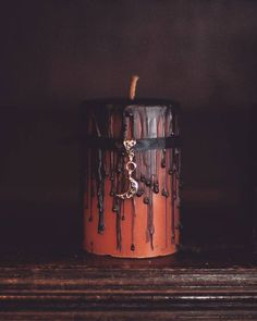 fall candle halloween candle spell candle by FirstEditionCandleCo