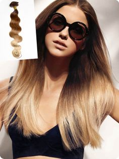 Dunkle Haare, helle Spitzen – Natürliche Ombre Hair 2013