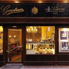 Photo of Gerstner K&K Hofzuckerbaeckerei - vienna Vienna Restaurant, Places In Scotland, Heart Of Europe, Best Dining, Old City, Tuscany, Austria, Coffee Shop, Liquor Cabinet