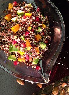 Bunter Quinoa-Kürbis-Salat | Foodlovin'