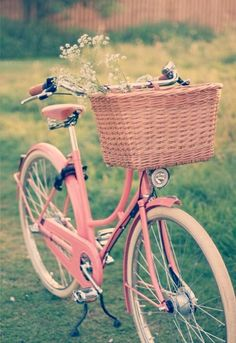 Pink bycicle!