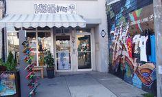Longboard Living shop at 202 Augusta