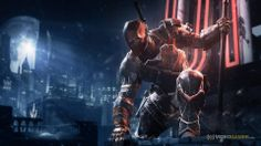Batman Arkham Origins Deathstroke Challenge Mode 100 To 1 Batman Arkham City, Batman Arkham Origins, Gotham City, Batman Wallpaper, Hd Wallpaper, Wallpaper Dekstop, Wallpapers, Batman Comic Art, Batman Comics