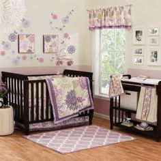 Crib Bedding Sets for Baby Girls on Hayneedle - Baby Girl Nursery Bedding Sets