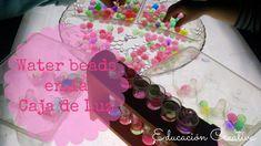 Water Beads en la Caja de Luz | Educación Creativa