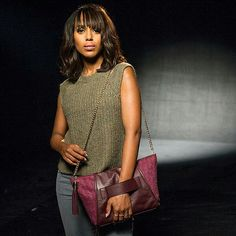 Kerry and her purple purse