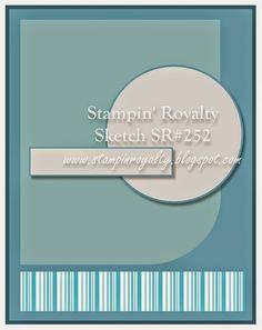 Stampin' Royalty: Stampin' Royalty Challenge #252