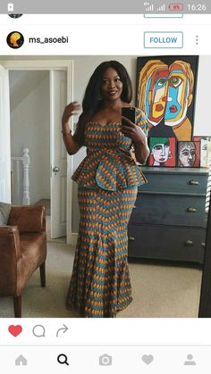 African American Fashion Blazer And Skirt African Fashion Ankara, Latest African Fashion Dresses, African Dresses For Women, African Print Dresses, African Print Fashion, African Attire, African Wear, African Women, Ghanaian Fashion
