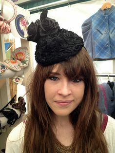 #customer #portobello #portobelloroad #londonfashion #headwear #vintageheadwear www.saratiara.com