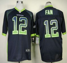 abbdd7eac Nike Seattle Seahawks Jersey #10 Paul Richardson Elite Blue Jerseys  Football Gear, Seahawks Football