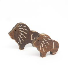 Wooden Alphabet Animals Letter Ll <LION ライオン> 字母動物會由Aa至Zz,任君選擇! #makeitworkstudio #wood #woodenletter #alphbet #animals #atoz