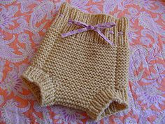 Wool Diaper Cover, free pattern