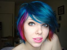 Would I look good with Colorful hair?