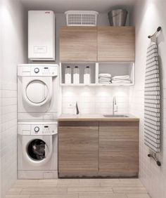 Best 20 Laundry Room Makeovers - Organization and Home Decor Laundry room decor Small laundry room organization Laundry closet ideas Laundry room storage Stackable washer dryer laundry room Small laundry room makeover A Budget Sink Load Clothes Modern Laundry Rooms, Laundry In Bathroom, Basement Laundry, Laundry Area, Bathroom Small, Laundry Room Small, Bathroom Modern, Laundry Closet, Feminine Bathroom