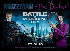 Men's final! Muzzman vs the Djoker! Australian Open 2013 #tennis #ausopen