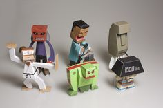 Crack open The Six Pack - Nice Paper Toys