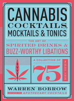 "The Stoner Girl's Guide to Warren Bobrow the author of ""Cannabis Cocktails, Mocktails & Tonics"""