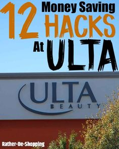 12 Smart Tips and Hacks to Save Money at Ulta Beauty - Finance tips, saving money, budgeting planner Best Money Saving Tips, Ways To Save Money, Money Tips, Saving Money, Money Savers, Grocery Savings Tips, Savings Planner, Budget Planner, Travel