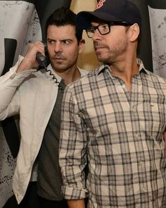 Donnie Wahlberg & Jordan Knight