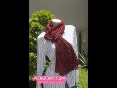 Una Chalina con un nuevo punto – Puntada Fantasia 28   Blog a Crochet - ACrochet