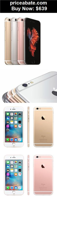 Cell-Phones: Apple iPhone 6s 16GB (GSM Unlocked) iOS Smartphone - Gold/Rose Gold/Silver/Gray - BUY IT NOW ONLY $639
