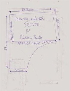 7d9afd864 ATITUDE MODAS Odilene Santos  Novos moldes de calcinhas infantis!
