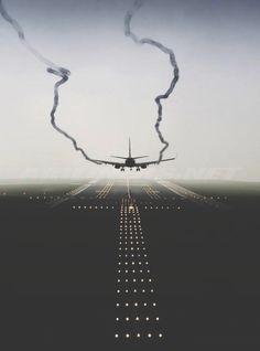 El aterrizaje