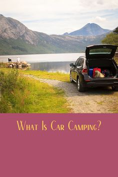 In this video learn what is Car Camping. Diy Camping, Tent Camping, Camping Gear, Camping Hacks, Outdoor Camping, Camping Products, Camping Supplies, Camping Essentials, Ways To Travel