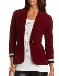 long sleeve boyfriend blazer