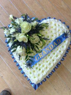 Image result for Open heart funeral arrangement