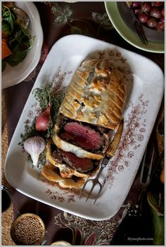 Thyme: Oh, Beautiful Fall! ...Classic Beef Wellington, Roasted Chestnuts and Creamy Dark Chocolate Birthday Cake