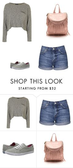 """""""Casual"""" by parislight ❤ liked on Polyvore featuring Topshop and Keds"""