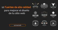 Recopilación para descargar fuentes de calidad y apariencia profesional con ejemplos + páginas para conseguir Fonts gratuitas ✅