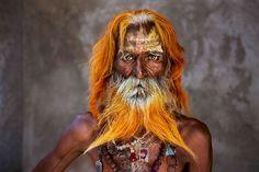 30 ans de Voyage Par Steve McCurry  Un homme âgé de la tribu Rabari, Rajasthan, Inde 2010