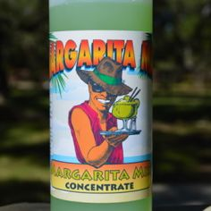 Pint size Margarita Concentrate by margaritaman.com for our Mini Marg Machine