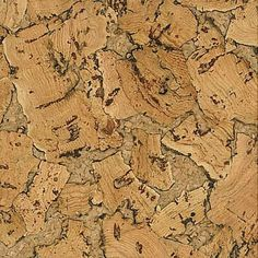 AmCork's Sea cork wall tile is a work of art, skillfully showing off the beauty of natural cork. This is a larger, chunkier version of our Rock cork wall tile pattern. The cork board sheet begins with