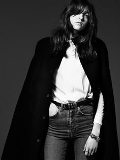 Grace Hartzel by Hedi Slimane for Saint Laurent Pre-Fall 2014 36