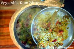 Shital's-Kitchen: Vegetable Dum Biryani