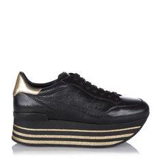 huge discount 79e2d a7e06 Damen Plateau Sneaker H368 Maxi Schwarz Damen, Skibekleidung, Jet Set