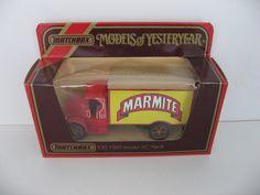 Matchbox Models of Yesteryear DieCast Material Vehicles Marmite, Diecast, Vans, Coding, Trucks, Models, Vehicles, Ebay, Templates