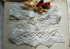 shabby lace torchon from BrocanteArt
