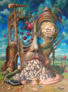 Weird Art Paintings | Surrealism and Visionary art: Jarosław Jaśnikowski